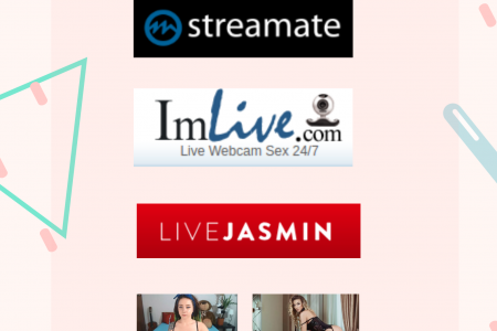 3 Cheapest Live Sex Cam Sites (2019) Infographic
