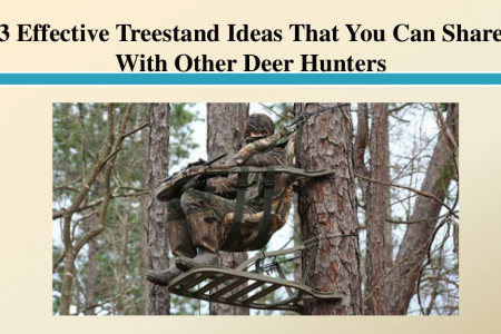 3 Effective Treestand Ideas That You Can Share With Other Deer Hunters Infographic