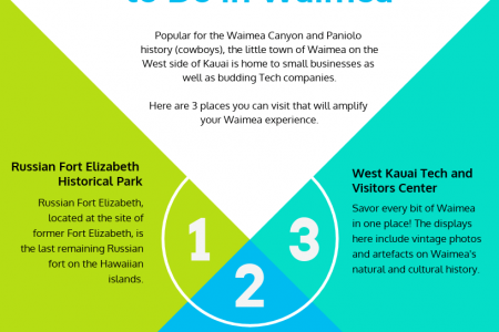 3 Important Things to Do in Waimea [Infographic] Infographic