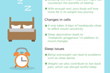 3 Keys to Losing Weight Infographic
