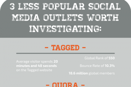 3 Less Popular Social Media Platforms Worth Tapping Into for Overall Brand Success Infographic