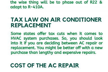 3 Must Thing to Know Before Deciding Repair or Replace Infographic