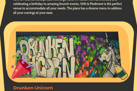 3 places in Atlanta to celebrate your birthday Infographic