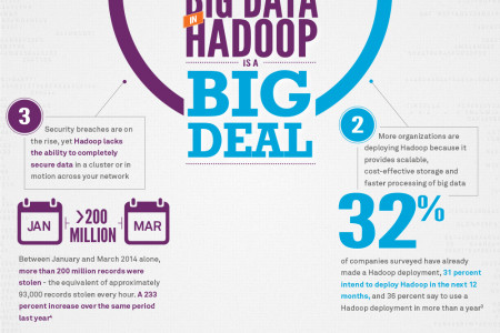 3 Reasons Securing Big Data in Hadoop is a Big Deal Infographic