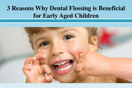 3 Reasons Why Dental Flossing is Beneficial for Early Aged Children Infographic