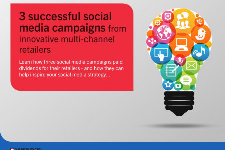 3 Successful Social Media Campaigns from Innovative Multi-channel Retailers Infographic