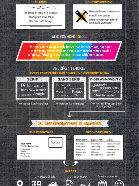 3 Things to Consider When Creating Your Business Cards Infographic