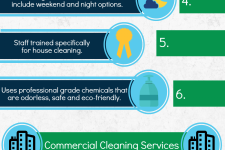 3 things to know about professional cleaning services Infographic