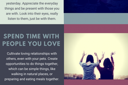 3 Tips for a More Meaningful Life Infographic