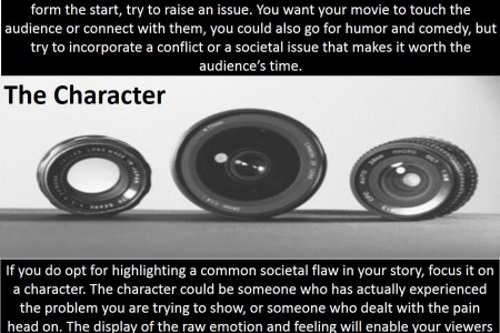 3 Tips To Help You Make Your Short Film  Infographic