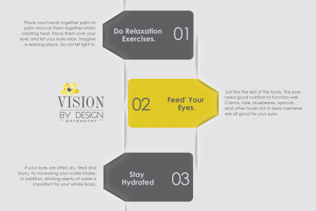 3 Ways to Improve Eyesight Naturally Infographic