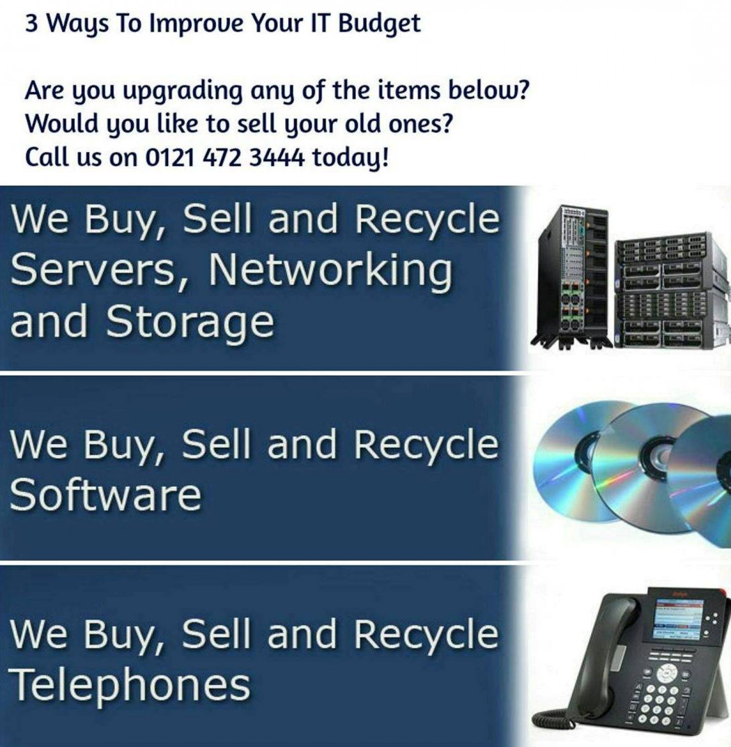 3 Ways To Improve Your IT Budget Infographic