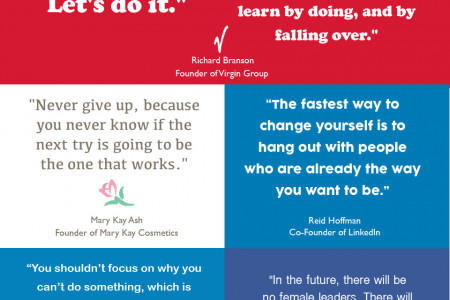 30 Inspirational Quotes Every Business Person Needs To Read Infographic