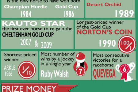 33 Amazing Facts About The Cheltenham Festival Infographic