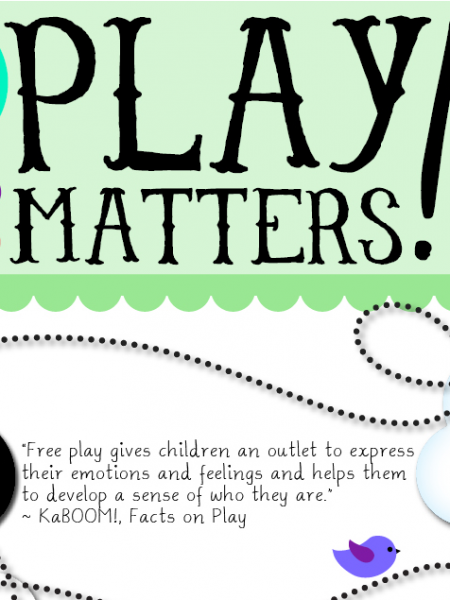 34 Reasons Why Play Matters Infographic