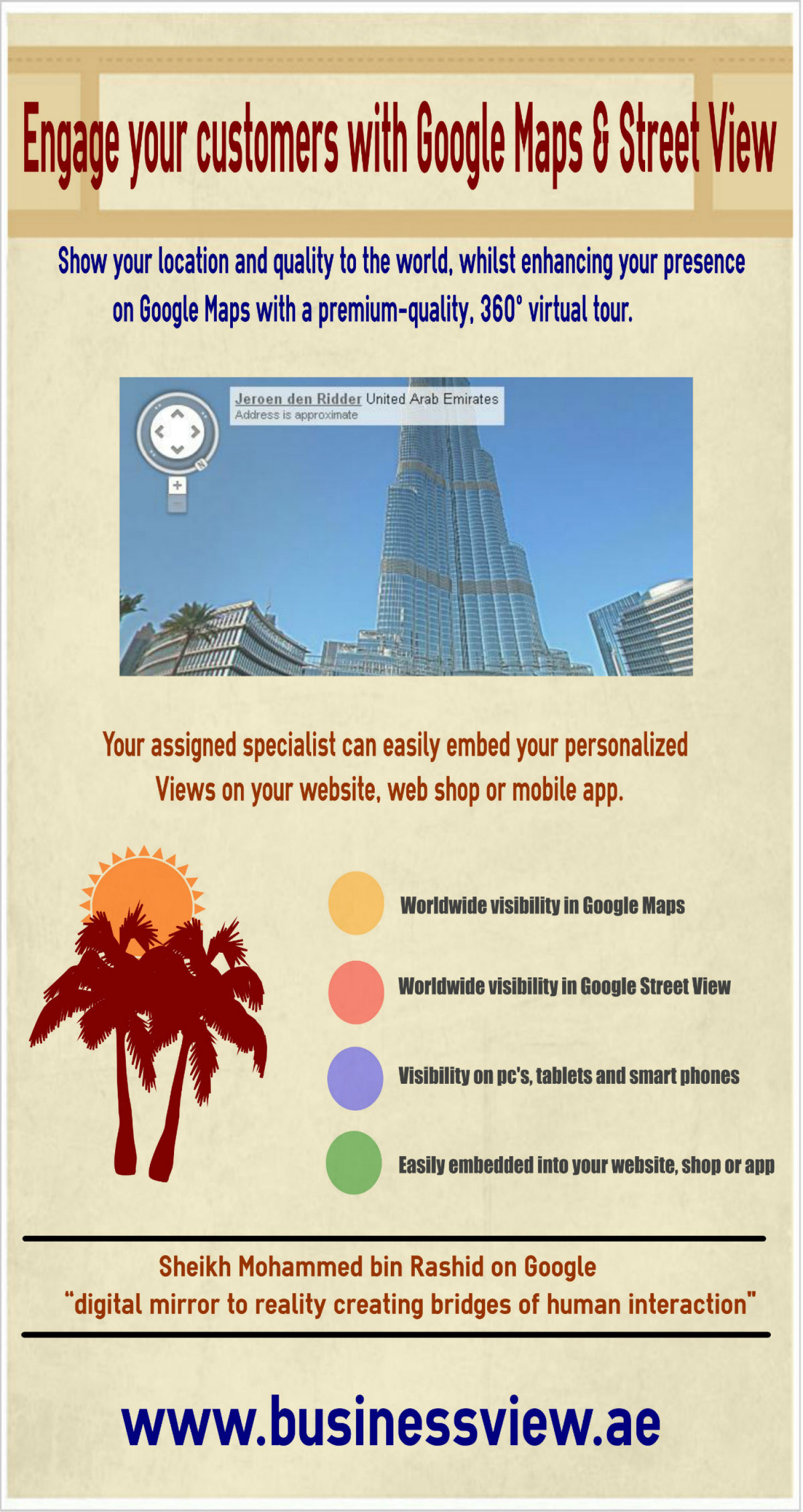 360 Photography with Business View Infographic