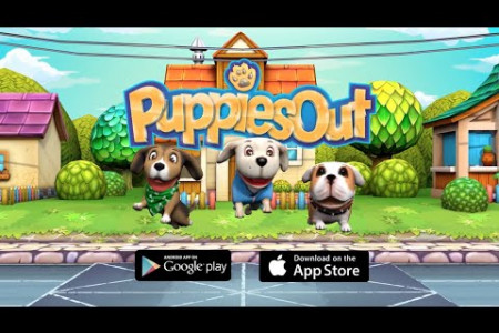 Puppies Out - Free Endless Runner Game for iPhone, iPad, Android  Infographic