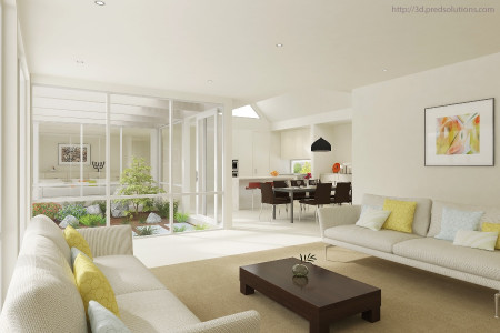 3D Architectural Rendering Infographic
