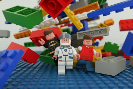 3D LEGO Animation Infographic