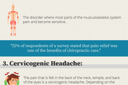 4 Conditions That Chiropractors Treat Infographic