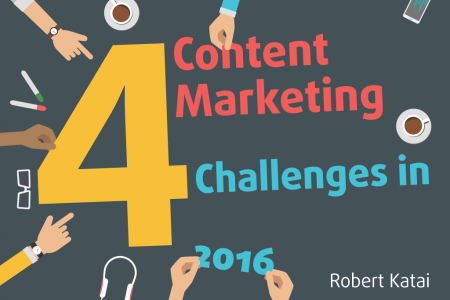 4 Content Marketing Challenges in 2016 Infographic