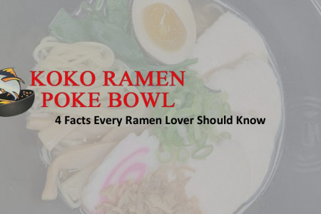 4 Facts Every Ramen Lover Should Know Infographic