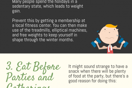 4 Little-Known Ways to Prevent Holiday Weight Gain Infographic