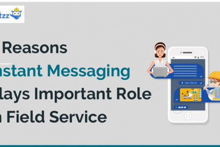 4 Reasons Instant Messaging Plays Important Role in Field Service Infographic
