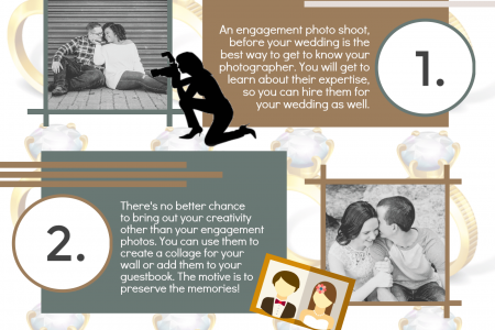 4 Reasons to have an Engagement Photoshoot Infographic