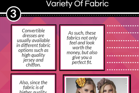 4 Reasons To Opt For A Convertible Dress Infographic