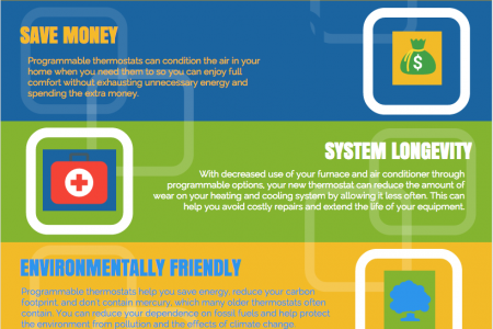 4 Reasons to Upgrade Your Thermostat Infographic