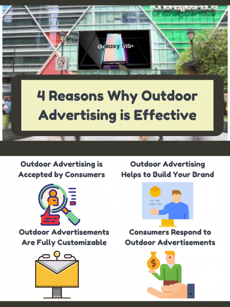 4 Reasons Why Outdoor Advertising is Effective Infographic