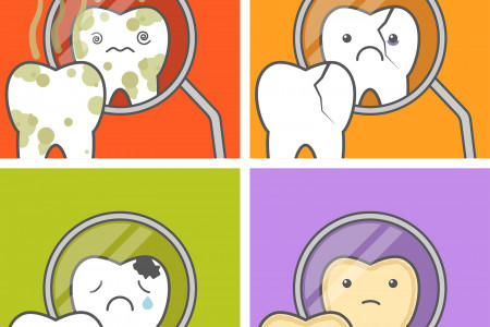 4 Scariest Dental Problems in the U.S. - And How to Avoid Them Infographic