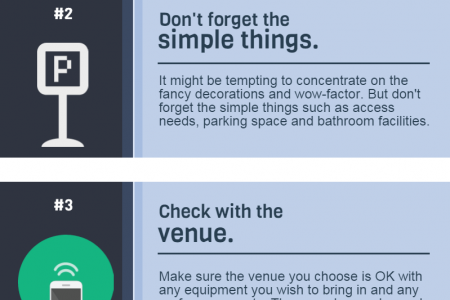 4 Secrets of Successful Event Planning  Infographic