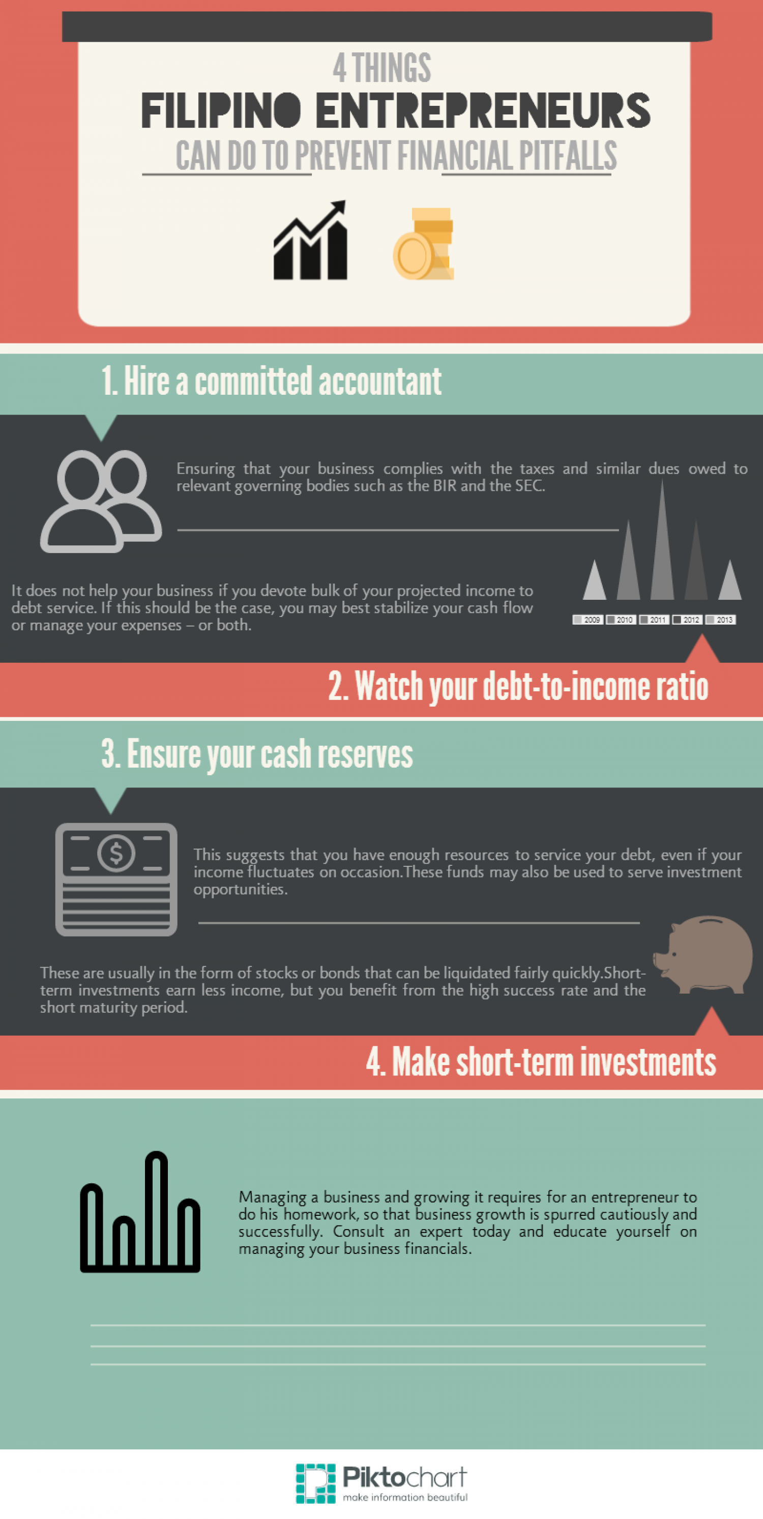 4 Things Filipino Entrepreneurs Can Do to Prevent Financial Pitfalls Infographic