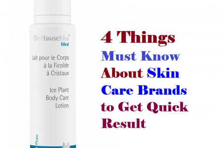 4 Things Must Know About Skin Care Brands to Get Quick Result  Infographic