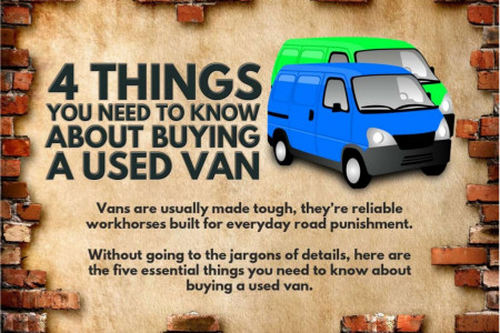 4 Things You Need to Know About Buying a Used Van Infographic