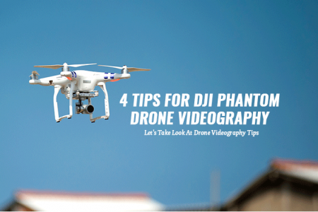 4 Tips for Drone Videography Infographic