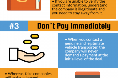 4 Tips to avoid Auto Transport Scams! Infographic
