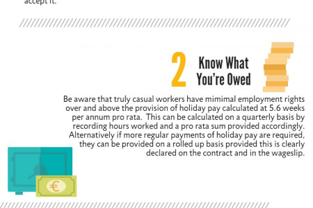 4 Top Tips For Employing Casual Workers Infographic