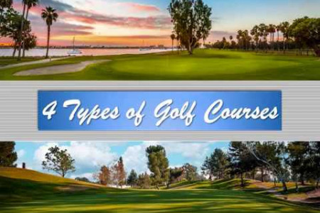 4 Types of Golf Courses Infographic