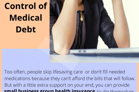 4 Ways to Help Your Employees Take Control of Medical Debt Infographic