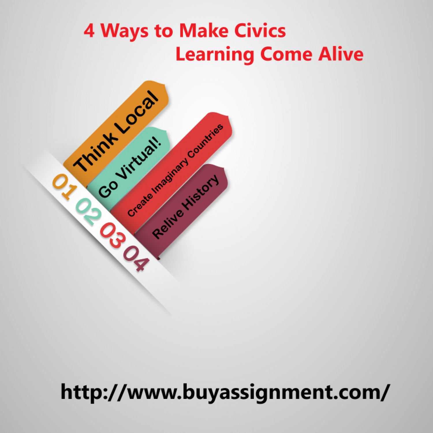 4 Ways to Make Civics Learning Come Alive Infographic