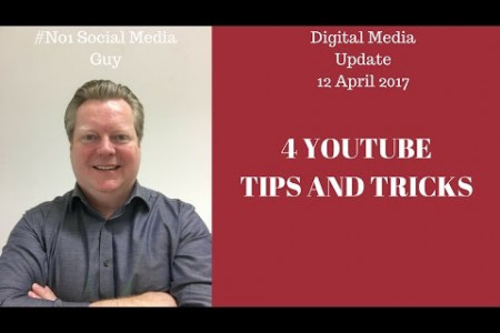 4 YouTube Tips and Tricks - Farnborough Digital Hub - 4 YouTube Tips and Tricks Infographic