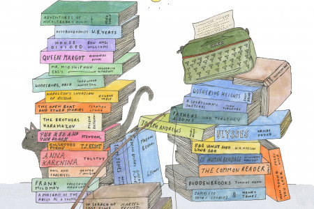 40 Must Read Books from the Shelves of Papa Hemingway Infographic