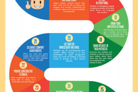 42 Ways to Boost Employee Engagement Infographic