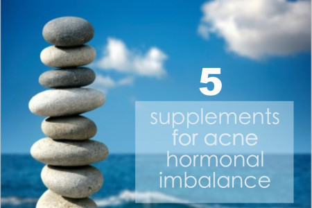 5 Acne Supplements for Hormonal Imbalance Infographic