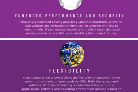 5 Advantages of Choosing a Dedicated Hosting Provider Infographic