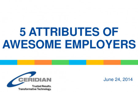 5 attributes of awesome employers Infographic