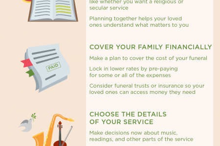 5 Benefits of Funeral Pre-Planning Infographic